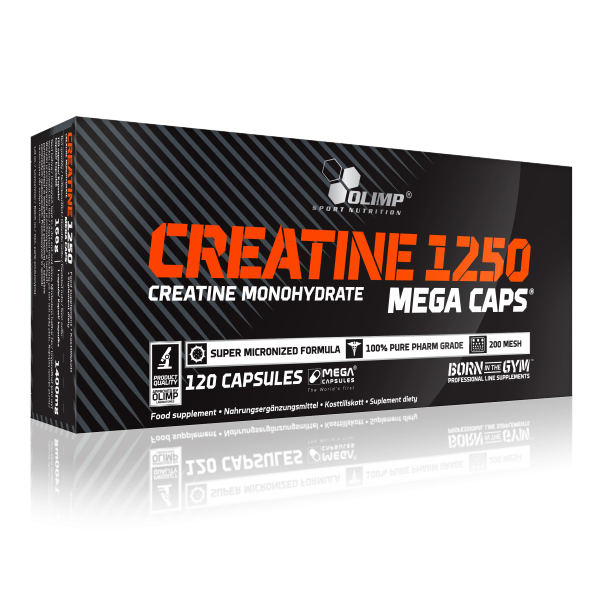 Creatine Mega Caps (120 Caps), Olimp