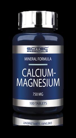 Calcium & Magnesium (100 Tabs), Scitec Nutrition