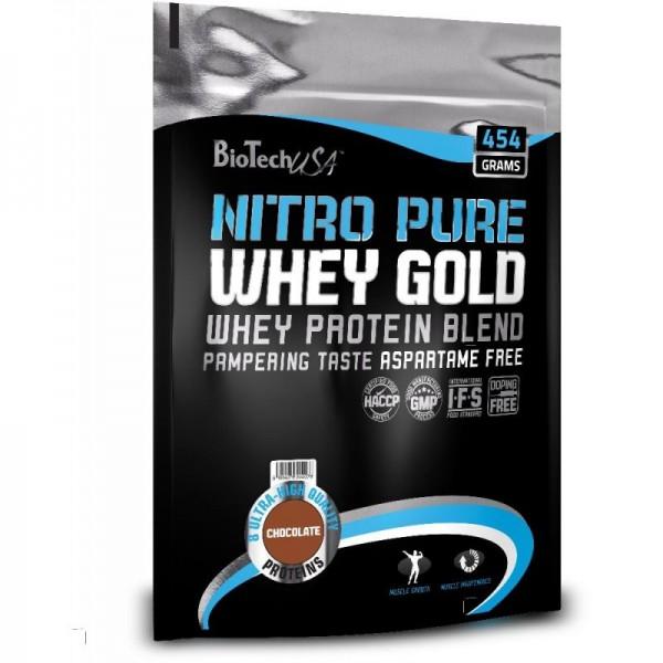 Nitro Pure Whey Gold (454g), BioTechUSA