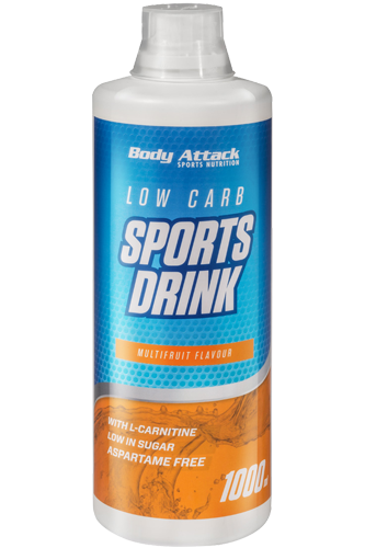 Low Carb Sports Drink (1000ml), Body Attack