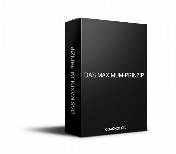 Maximum Prinzip - Trainingsprogramm