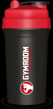 Gymroom Shaker Plus (750ml) - Black/Red