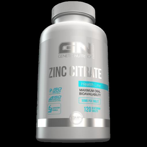 Zinc Citrat (120 Caps), GN Laboratories