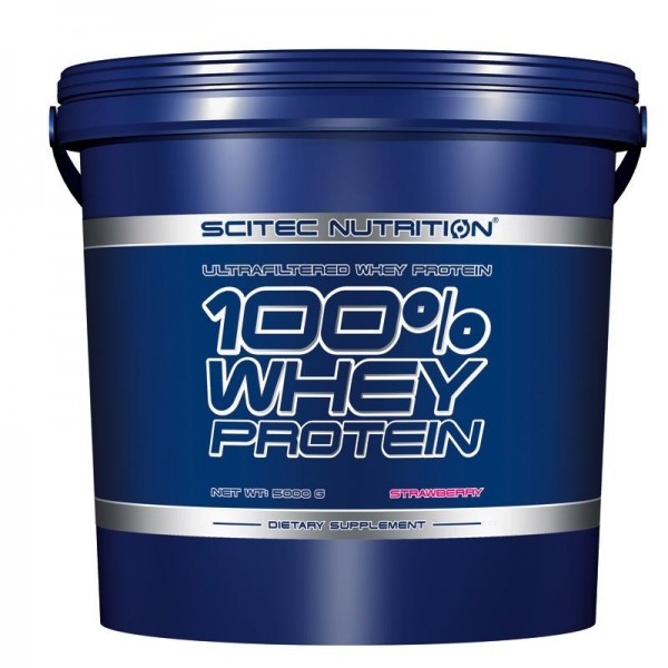 100% Whey Protein (5000g), Scitec Nutrition