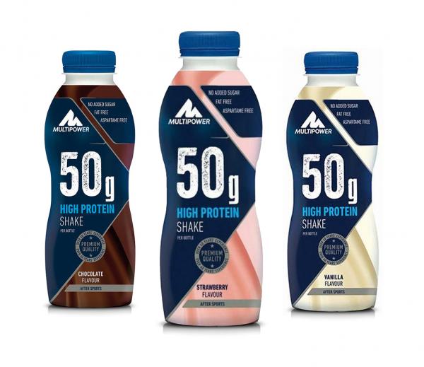 50g High Protein Shake (500ml), Multipower