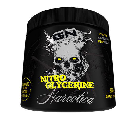 Narcotica Nitro Glycerine (300g), GN Laboratories