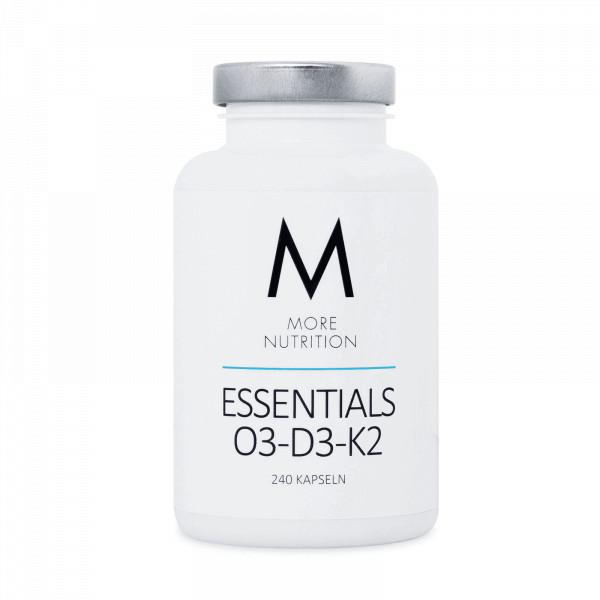 Essentials O3-D3-K2 (240 Kapseln), More Nutrition