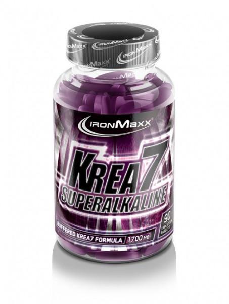 KREA7 SUPERALKINE (90 TABLETTEN), Ironmaxx Nutrition