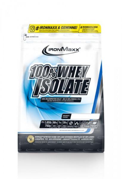 100% Whey Isolate - MHD 30.06 (750g), Ironmaxx Nutrition