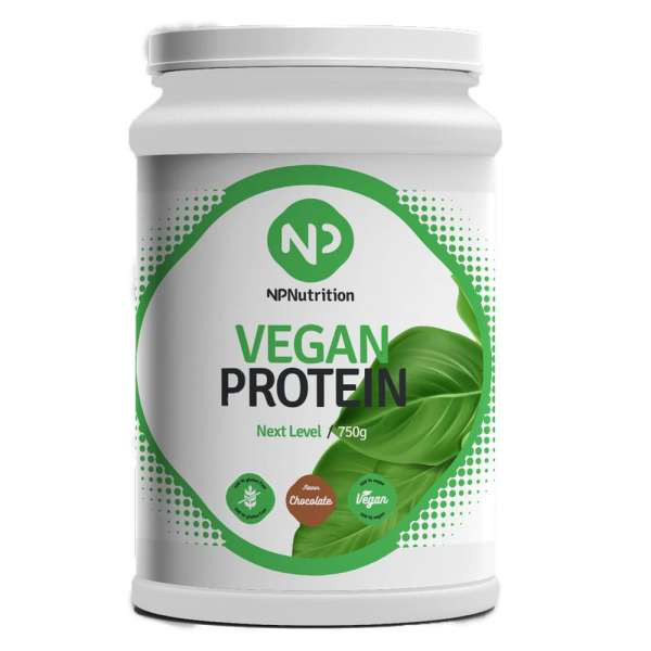 NP Nutrition Vegan Protein Next Level, 750g - Schokolade