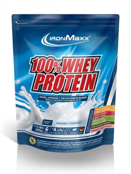 100% Whey Protein (2350g), Ironmaxx Nutrition