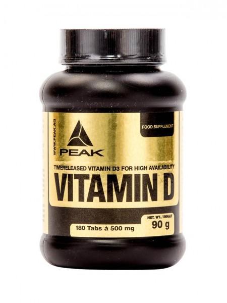 Vitamin D (180 Caps), Peak