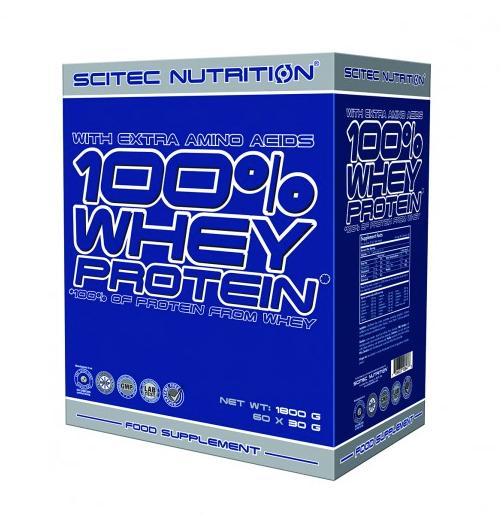 Variety Pack: 100% Whey Protein 30x30g Tüten (900g), Scitec Nutrition