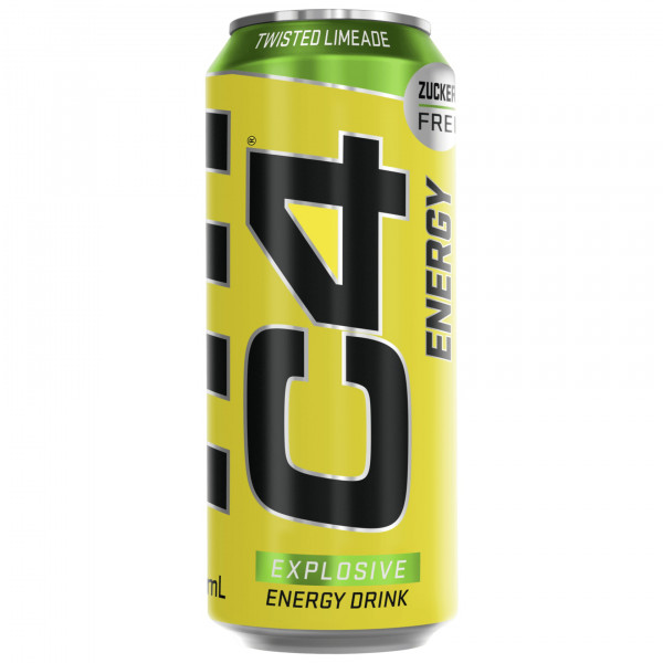 C4 Energy Drink inkl. Pfand (500ml), Cellucor