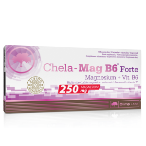 CHELA MAG B6 FORTE (60 Caps), Olimp