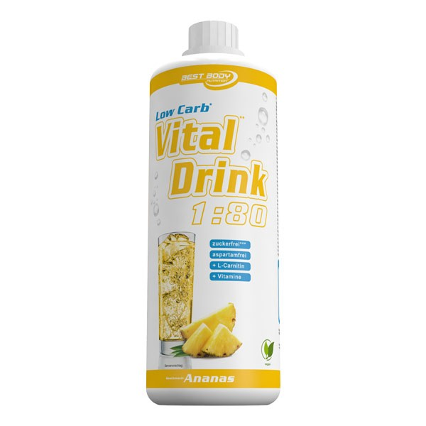 Low Carb Vital Drink (1000ml), BestBody