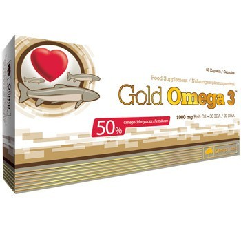 Gold Omega 3 (60 Caps), Olimp