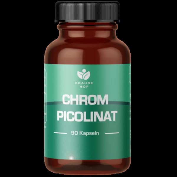 Chrom Picolinat (90 Kapseln), Krause Hof