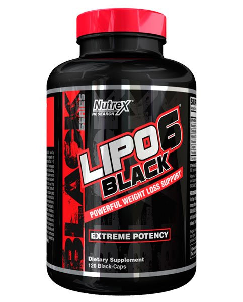 Lipo 6 Black UC (60 Caps), Nutrex