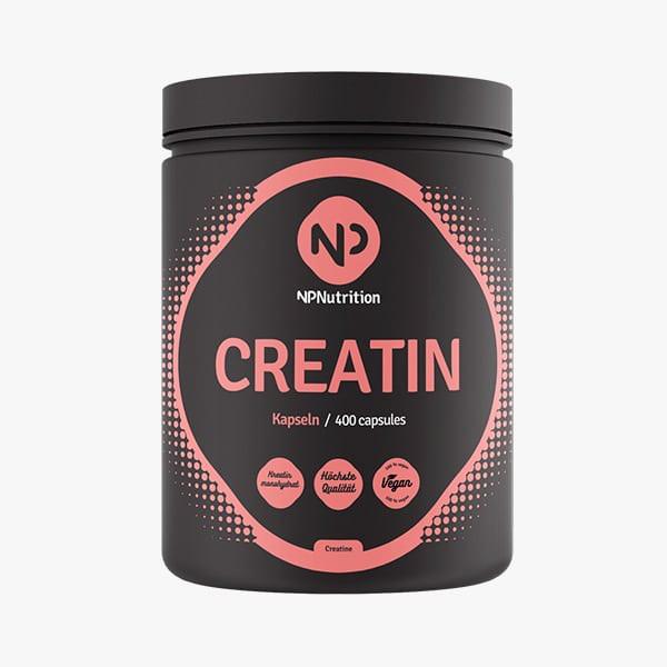 Creatin Kapseln (400 Stück), NP Nutrition