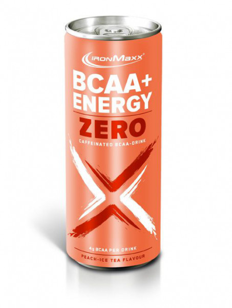 BCAA + Energy Drink Zero (330ml), Ironmaxx Nutrition
