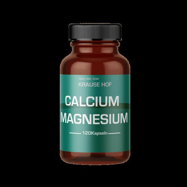 Calcium Magnesium (120 Kapseln), Krause Hof