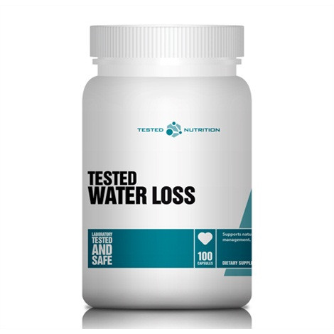 Water Loss (100 Caps), Tested Nutrition