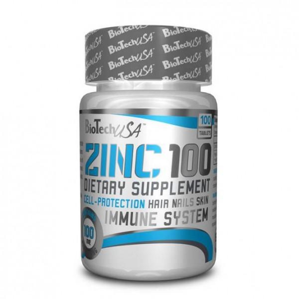 Zinc Max 100mg (100 Tabs), BioTechUSA