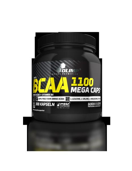 BCAA Mega Caps 1100 (300 Caps), Olimp