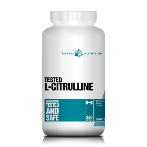 L-Citrulline (240 Caps), Tested Nutrition
