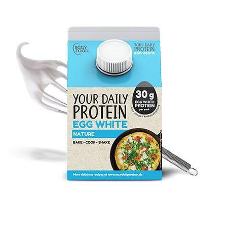 Liquid Eggwhite flüssiges Eiklar (300ml), Your Daily Protein