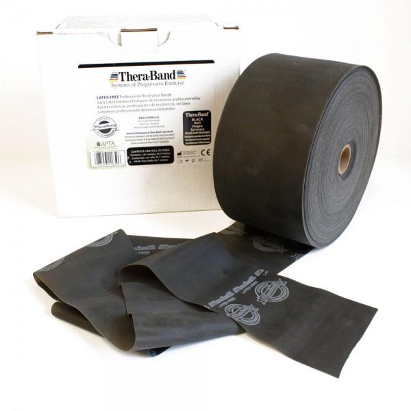 Thera-Band® latexfrei Schwarz spezial stark, Meterware