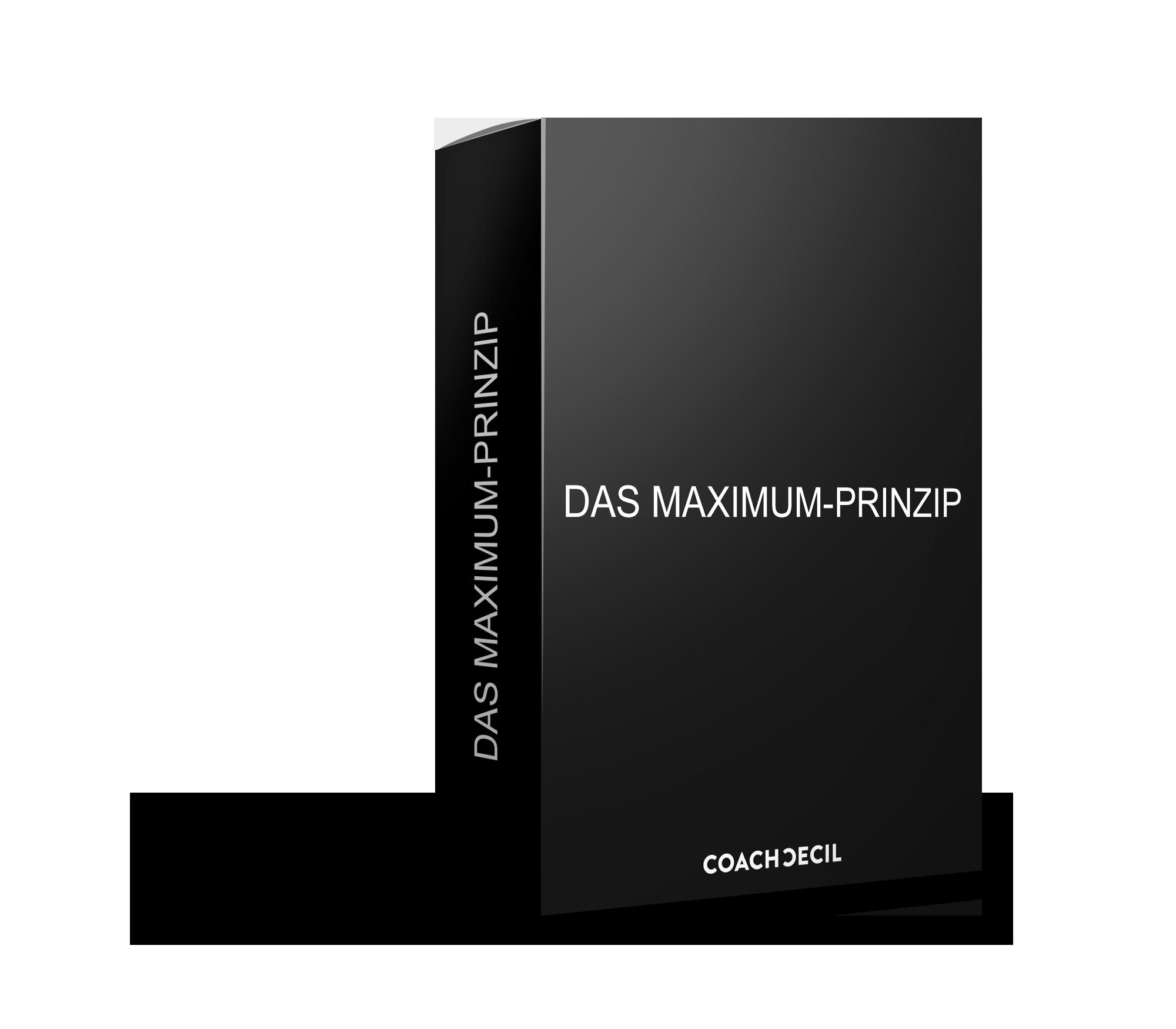 various design check out hot sales Maximum Prinzip - Trainingsprogramm