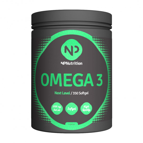 Omega 3 (350 Caps), NP Nutrition