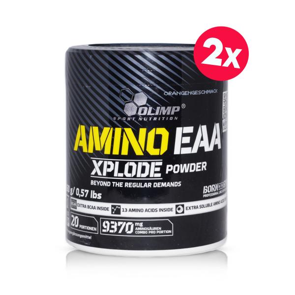 2 x Amino EAA Xplode (260g), Olimp