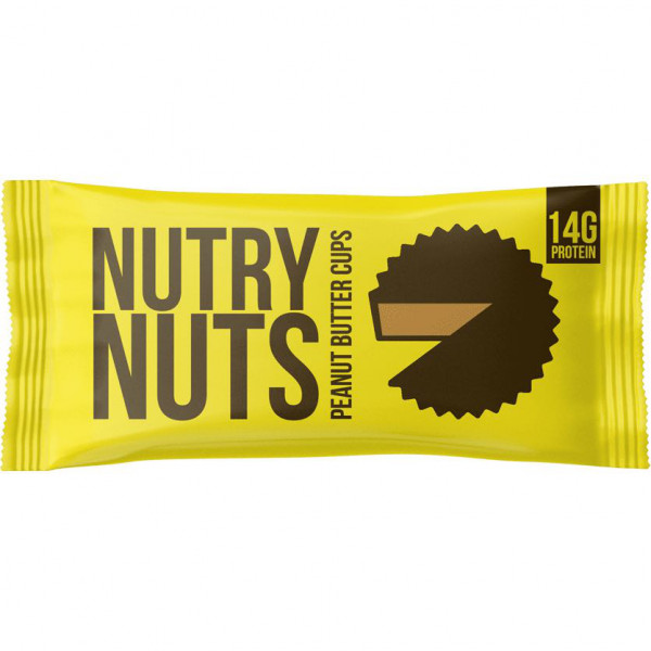 Milk Chocolate Peanutbutter Cups (42g), Nutry Nuts